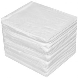 Полотенце эконом белое 45х90 см