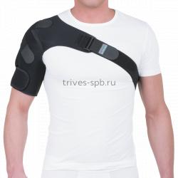 Бандаж на плечевой сустав со семными эластичными лентами Trives