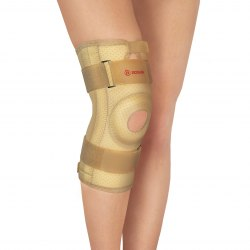 Бандаж коленного сустава с ребрами жесткости