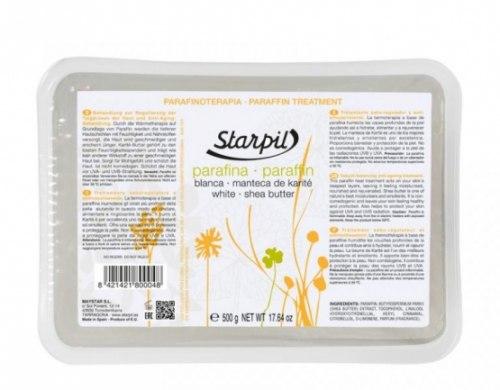 Белый парафин с маслом Ши,500гр Starpil