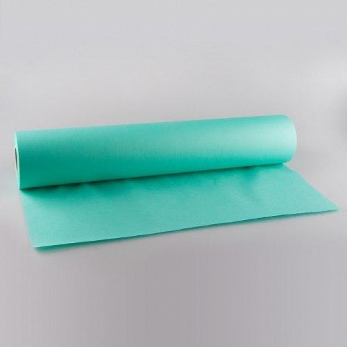 Простыни 0,8х2 м.,с перфорацией в рулоне 100 шт., СМС голубой, белый, розовый, желтый, зеленый