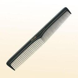 Расчёска для стрижки волос, с лёгким скосом Comair Carbon Profi Line № 401