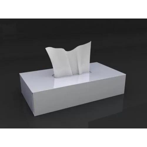 Салфетки косметические бумажные 20х20 двухслойные вытяжные