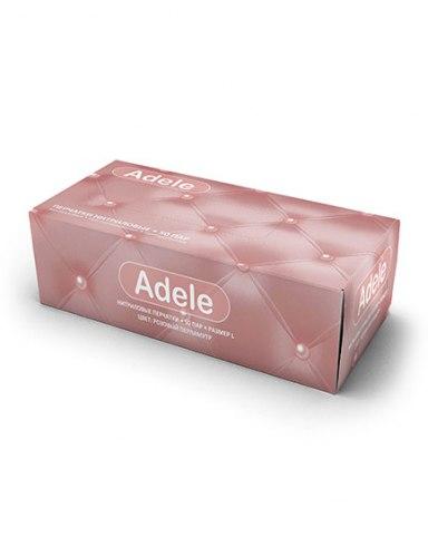 Adele нитриловые розовый перламутр - перчатки, которые подчеркнут ваш стиль АРДЕЙЛ-ИМПЭКС