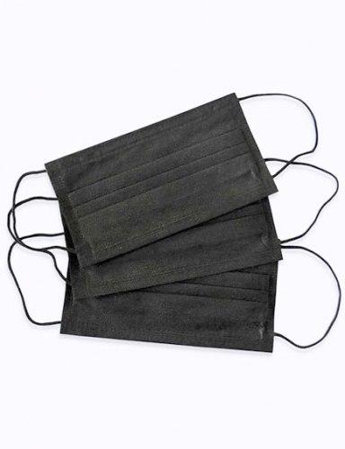 Маски 3-слойные черные Archdale