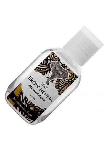 Минеральный раствор для разведения хны - Brow Henna 30 мл Sexy Henna Brow