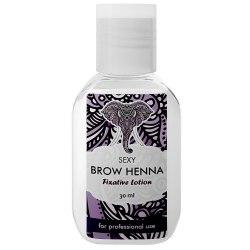 Лосьон-фиксатор цвета - Brow Henna 30 гр Sexy Henna Brow