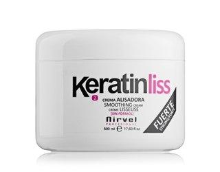 Распрямляющая эмульсия с кератином Nirvel Professional Smoothing cream, 5Х100 мл