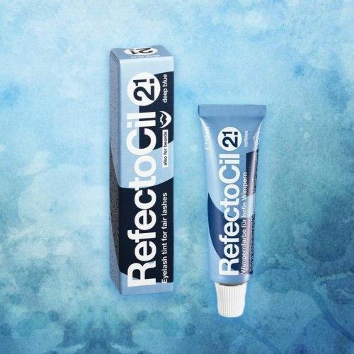 Краска для бровей и ресниц синяя №2.1 объем 15 мл RefectoCil