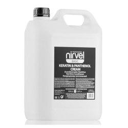 Кондиционер питательный с кератином и пантенолом для сухих, ломких и поврежденных волос Nirvel Professional Keratin & Panthenol Cream