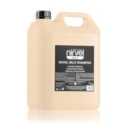 Шампунь увлажняющий с пчелиным маточным молочком для сухих, окрашенных и поврежденных волос Описание продукта Nirvel Professional Royal Jelly Shampoo