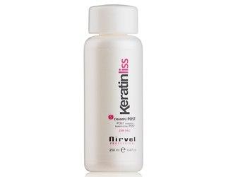 Восстанавливающий кератиновый шампунь для волос Nirvel Professional Shampoo Post №5