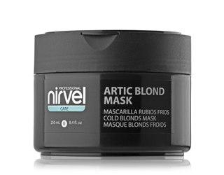 Маска для поддержания холодных оттенков блонд Nirvel Professional Artic Blond Mask