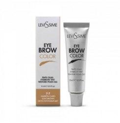 Краска для бровей и ресниц Lash Color Light Brown, светло-коричневый 7.7 , 15 мл Levissime