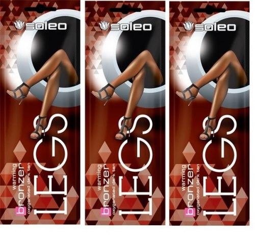 Крем-бронзатор для слабозагорающей кожи ног Soleo Legs Soleo