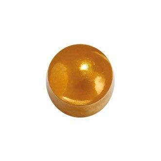 Серьги-иглы шарики с позолотой Studex