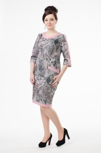 Платье MILORI 1312 розовый