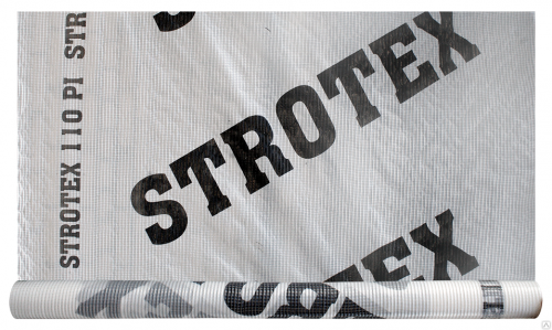 Пленка гидроветрозащитная армированная STROTEX 110 PP