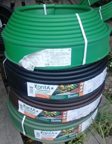 Бордюр SP черный, коричневый, оливковый, зеленый KANTA