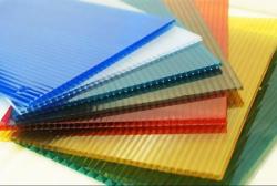 Поликарбонат сотовый 4 мм цветной Скарб