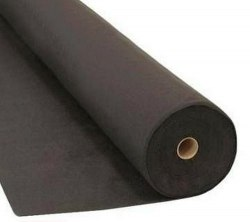 Геотекстиль тканый черный 150 гр/м.кв., ширина 1,60 м