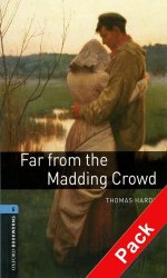 Oxford Bookworms Library 5: Far from the Madding Crowd with Audio CD