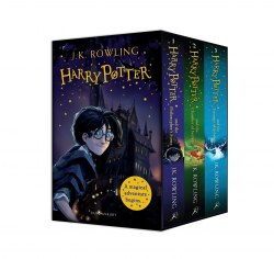 Harry Potter 1-3 Box Set: A Magical Adventure Begins / Набір книг