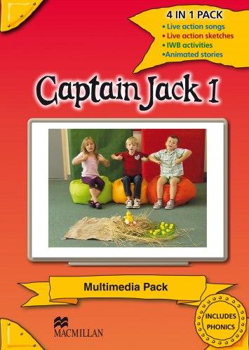 Captain Jack 1 Multimedia Pack / Ресурси для інтерактивної дошки