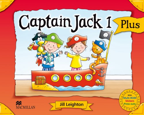 Captain Jack 1 Pupil's Book Pack Plus / Підручник для учня
