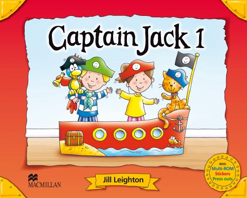 Captain Jack 1 Pupil's Book Pack / Підручник для учня