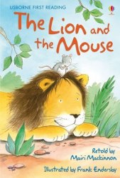 Usborne First Reading 1 The Lion and the Mouse