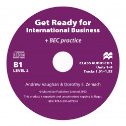 Get Ready for International Business with BEC practice 2 Class Audio CDs / Аудіо диск