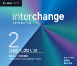 Interchange (5th Edition) 2 Class Audio CDs / Аудіо диск