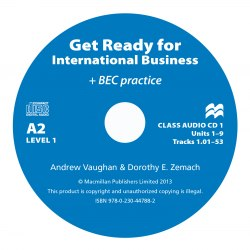 Get Ready for International Business with BEC practice 1 Class Audio CDs / Аудіо диск