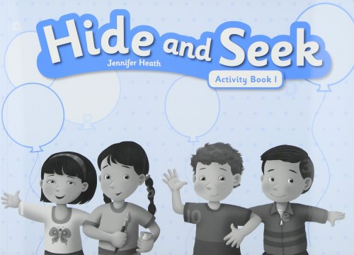 Hide and Seek 1 Activity Book with Audio CD / Робочий зошит