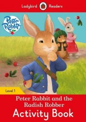 Ladybird Readers 1 Peter Rabbit and the Radish Robber Activity Book / Робочий зошит