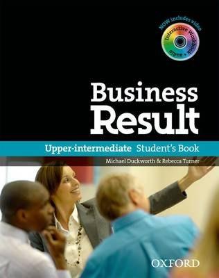 Business Result Upper-Intermediate Student's Book with DVD-ROM and Interactive Workbook / Підручник для учня