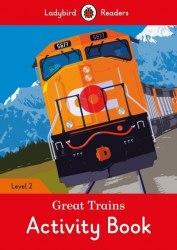 Ladybird Readers 2 Great Trains Activity Book / Робочий зошит