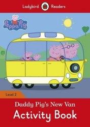 Ladybird Readers 2 Peppa Pig: Daddy Pig's New Van Activity Book / Робочий зошит