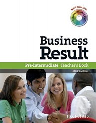 Business Result Pre-Intermediate Teacher's Book with Class DVD and Teacher Training DVD / Підручник для вчителя