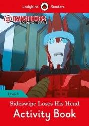 Ladybird Readers 4 Transformers: Sideswipe Loses His Head Activity Book / Робочий зошит