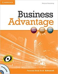 Business Advantage Advanced Personal Study Book with Audio CD Cambridge University Press