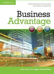 Business Advantage Upper-Intermediate Class Audio CDs / Аудіо диск