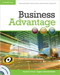 Business Advantage Upper-Intermediate Student's Book with DVD / Підручник для учня