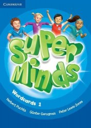 Super Minds 1 Wordcards (Pack of 90) / Картки
