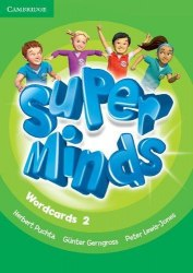 Super Minds 2 Wordcards (Pack of 81) / Картки