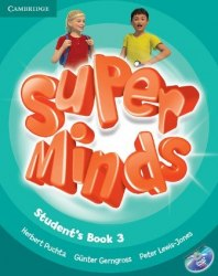 Super Minds 3 Student's Book with DVD-ROM including Lessons Plus for Ukraine / Підручник для учня
