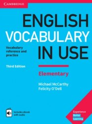 English Vocabulary in Use Third Edition Elementary with eBook and answer key