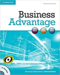 Business Advantage Intermediate Personal Study Book with Audio CD / Робочий зошит