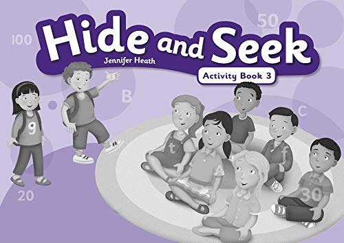 Hide and Seek 3 Activity Book with Audio CD / Робочий зошит